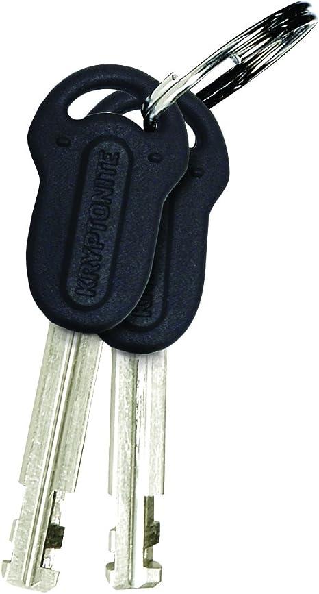 Kryptonite Kryptolok Series-2 Black 13mm Disc Lock Yellow Bike 42mm 49mm Bicycle