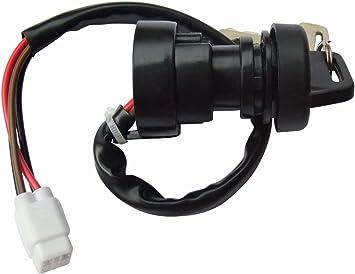 Ignition Key Switch Yamaha Kodiak YFM 400 450 2WD 4WD 2003 2004 2005 2006 ATV