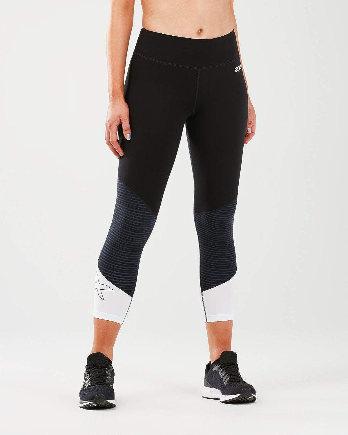 2XU Women's Fitness Mid-risecompression 7/8 Tight-Wa5390b Compression Tight