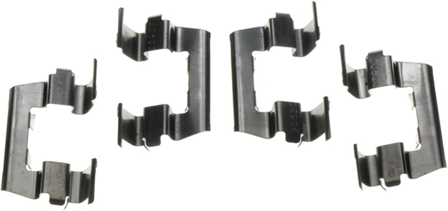 ACDelco 18K349X Professional Front Disc Brake Caliper Hardware Kit with Clips