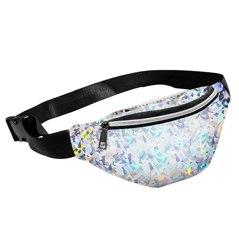 ZHUOTOP Primitive Lodging Wind Blink Bag Women Glitter Fanny Pack with Hidden Pocket Perfect for Raves and Festivals
