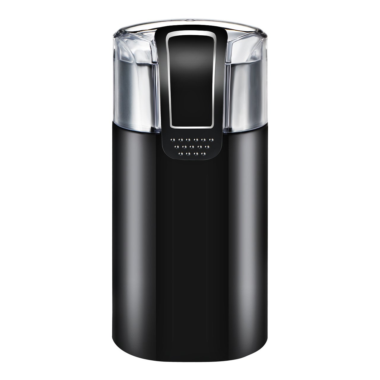 Homitt Coffee Grinder, Electric Coffee Bean Grinder with Noiseless Motor and 301 Stainless Steel Blades for Evenly and Versatile Grinding- One Touch Design Supports Home and Office Portable Use