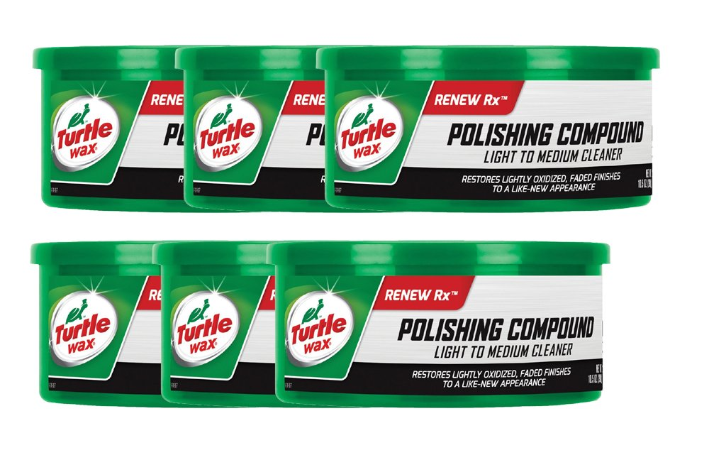 Turtle Wax Polishing Compound (10.5 oz.) - Pack of 6