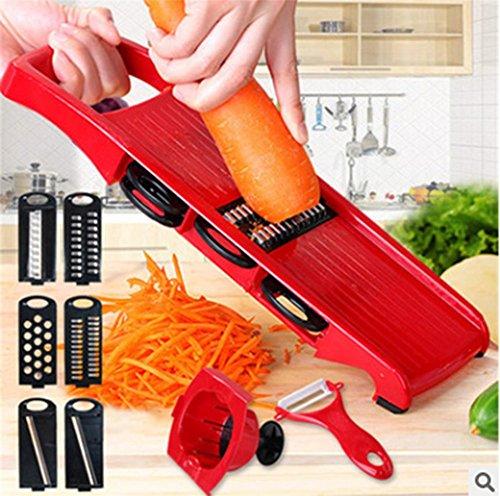 XiaoBi- Home Kitchen Multifunction Shredder Shredder Potato Carrot Wire  Ground Shredder Artifact Peeler