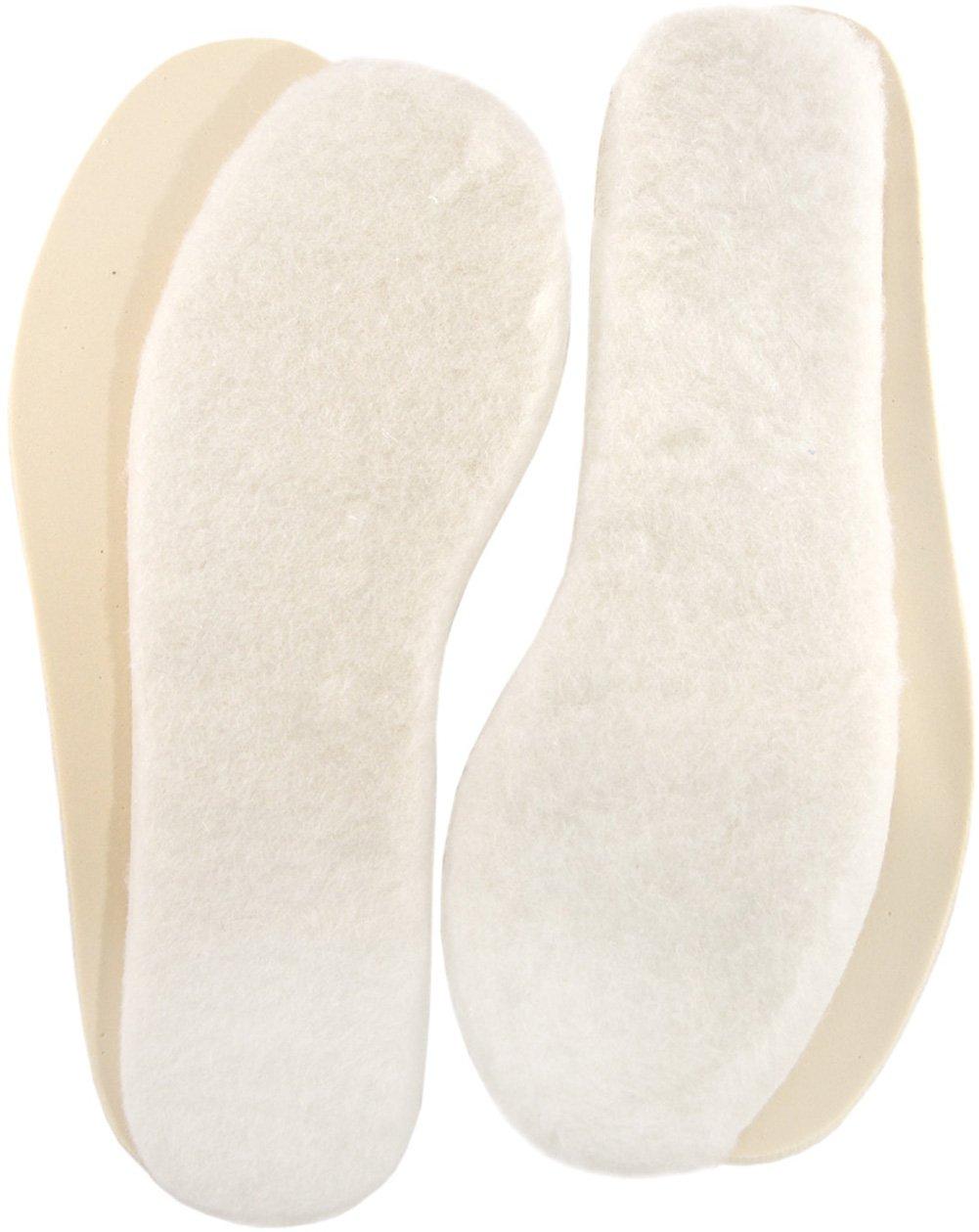 3X Sheepskin Lambswool Nice Inserts Thermal Pad Shoe Warm Fluffy Cushion Insoles