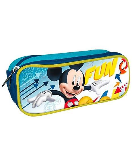 Mickey Mouse AST1242 - Portatodo doble cremallera