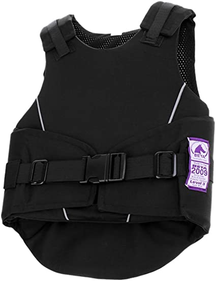 CUTICATE Equestrian Back Protector Horse Riding Safety Vest Body Protective Gear for Men Women Toddler Kids Boys Girls