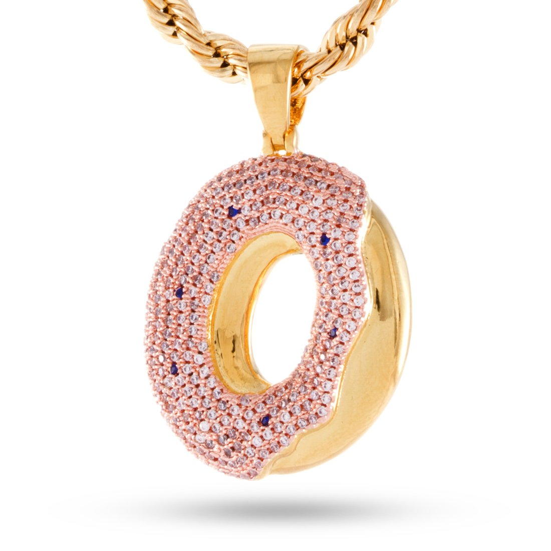 The 14K Gold Plated Odd Future Donut by King Ice