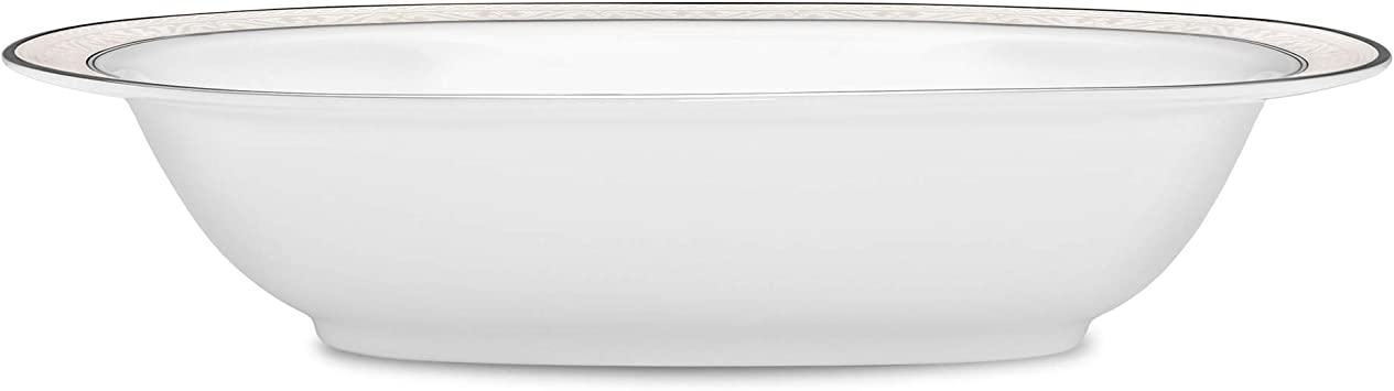 Noritake Montvale Platinum Covered Vegetable Bowl