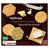 Biscuits For Cheese Selection Waitrose 300g (Pack of 4)