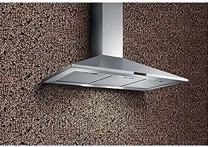 TURBOAIR Cappa Cucina Aspirante 90 cm colore Inox - CERTOSA IX/A/90/PB: Amazon.es: Grandes electrodomésticos