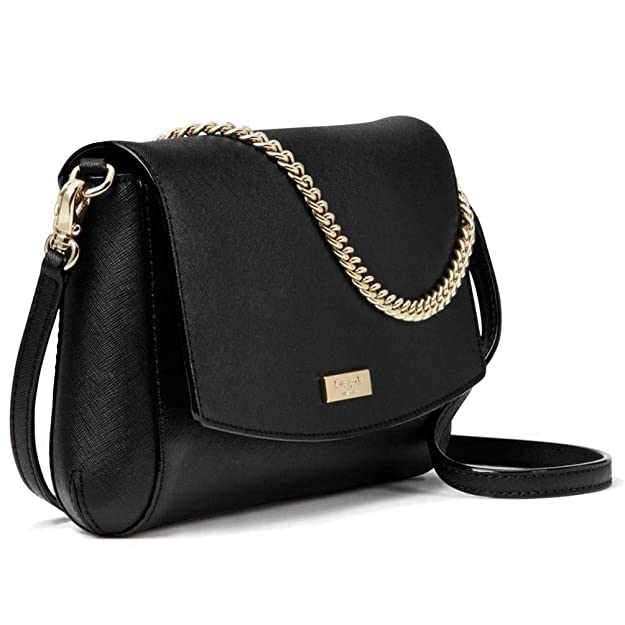 Kate Spade New York Greer Laurel Way Crossbody Purse (Black)