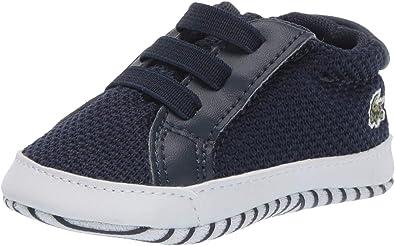 Lacoste Unisex-Child L Crib Shoe | Sneakers