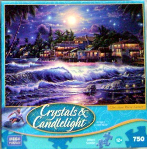 Crystals and Candlelight Christian Riese Lassen LAHAINA STARLIGHT II Puzzle Glitters! 750 Piece Glitter -
