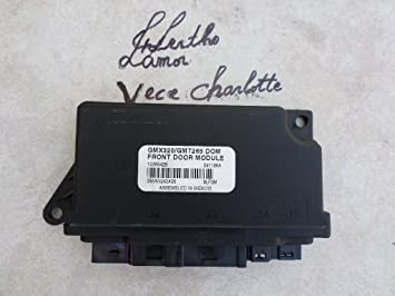 2004 Cadillac CTS GMX320//GMT265 DOM Front door module 25767164