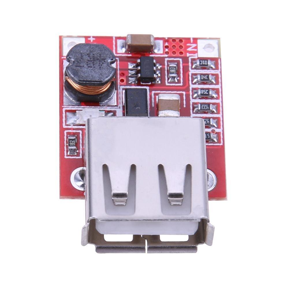 Asiproper 3V a 5V Caricatore mobile modulo step Up modulo convertitore di ingresso 2.5V-4.2V