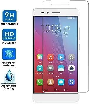 REY Protector de Pantalla para Huawei Honor 5X, Cristal Vidrio ...