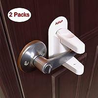 Candado para palanca de puerta (2 paquetes), manilla