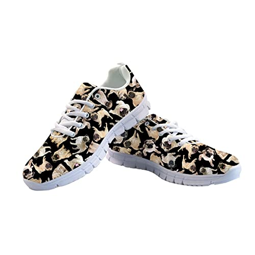 ea405d32dfbeb HUGS IDEA Cat Eyes Pattern Cute Women's Casual Sneakers Comfort Running  Shoes