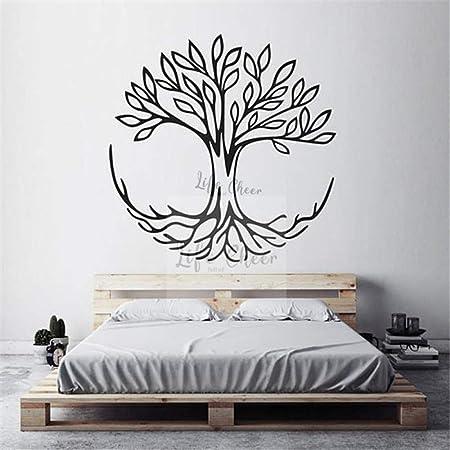Zaosan Tatuajes de Pared de Vinilo diseño de árbol de Vida ...