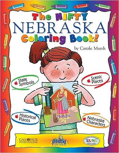 Book The Nifty Nebraska Coloring Book! (Nebraska Experience)