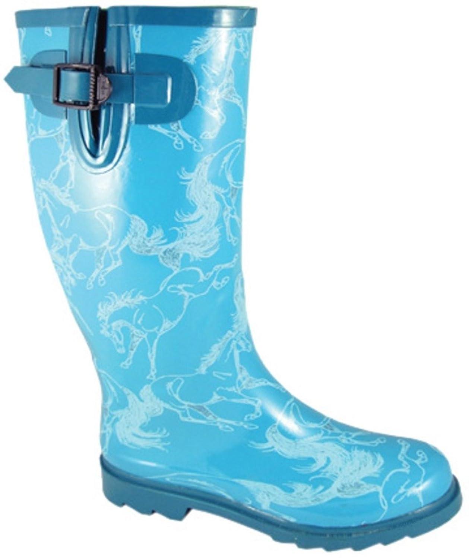 Knee Socks AWST International Western Boot Flowers