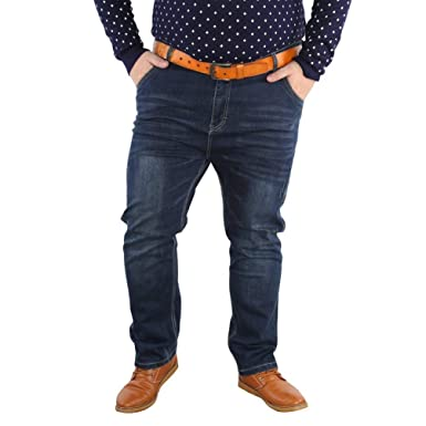 ADELINA Pantalones Vaqueros De Moda para Baggy Cat Hombres ...
