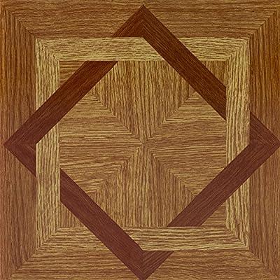Achim Imports FTVWD22445 Tivoli Light Oak Plank-Look 12 x 12 Self Adhesive Vinyl Floor Tile-45 Tiles/45 Sq. Ft. , Piece