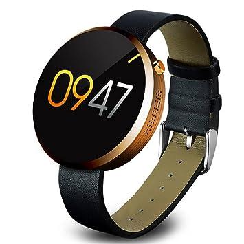 Lemfo DM360 inteligente reloj hombres mujeres Bluetooth Control de la frecuencia cardiaca reloj de pulsera muñeca reloj inteligente para Apple iOS Android ...