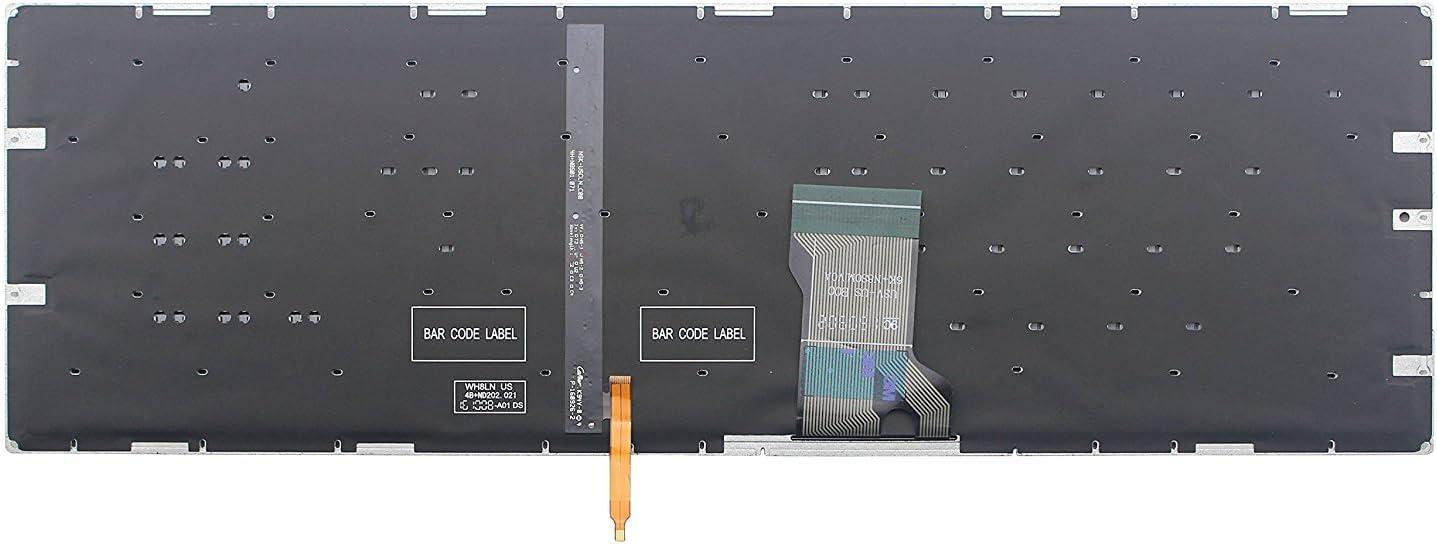New for Asus 0KN0-TD1US13 0KNB0-662PUS00 9Z.N8SBU.C01 NSK-USCBU Backlit Keyboard