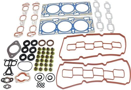 Fits 07-09 Dodge Charger Avenger Chrysler 300 Sebring 3.5 Full Gasket Set Bolts