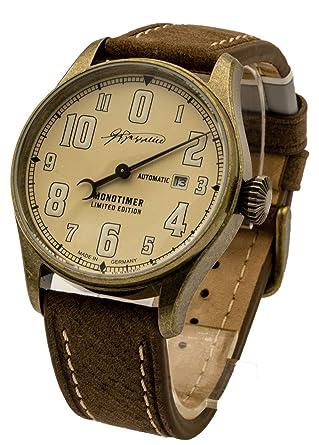 Zeppelin 8162-5 - Reloj de Pulsera automático para Hombre, diseño Vintage, Fabricado en Alemania: Amazon.es: Relojes