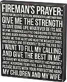 Cheap Primitives by Kathy Box Sign, Fireman's Prayer