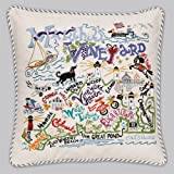 Catstudio Martha's Vineyard Pillow - Geography Collection Home Décor 077(CS)