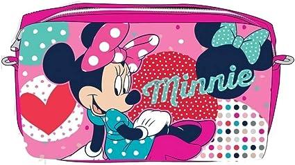 Disney Trousse Double Fermeture 85x225x70mm Minnie AST1243