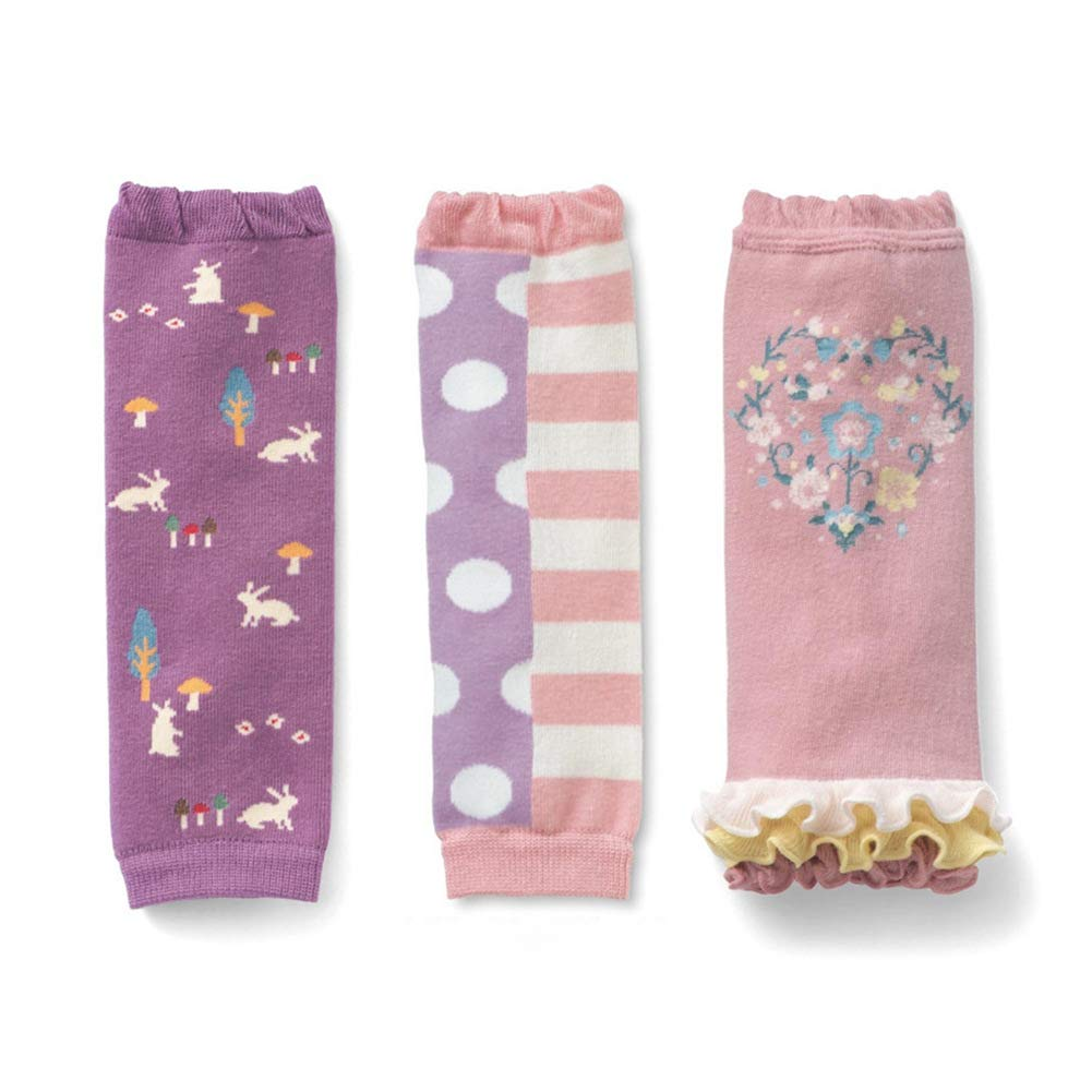 Baby Toddler Boys Soft Girls Leg Warmers Kneepads 3 Pack Color Mix 3 by OLIVE OLIVIA