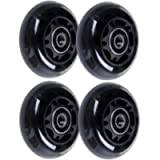 AOWISH 64mm Inline Skate Wheels 85A [4-Pack] Beginner Kids Roller Blades Replacement Wheel with Bearings ABEC-9 for…