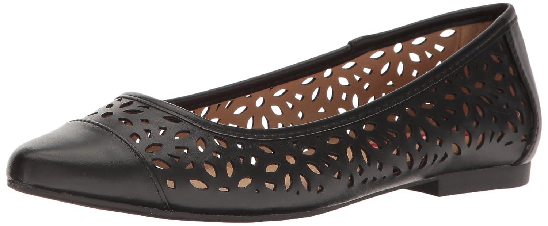 UNIONBAY Women's Willis Pointed Toe Flat B01M3U8DZD 9 B(M) US|Black