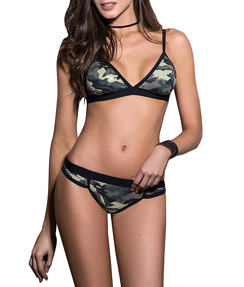 Mapale Camo Bra and Panty Set 2523