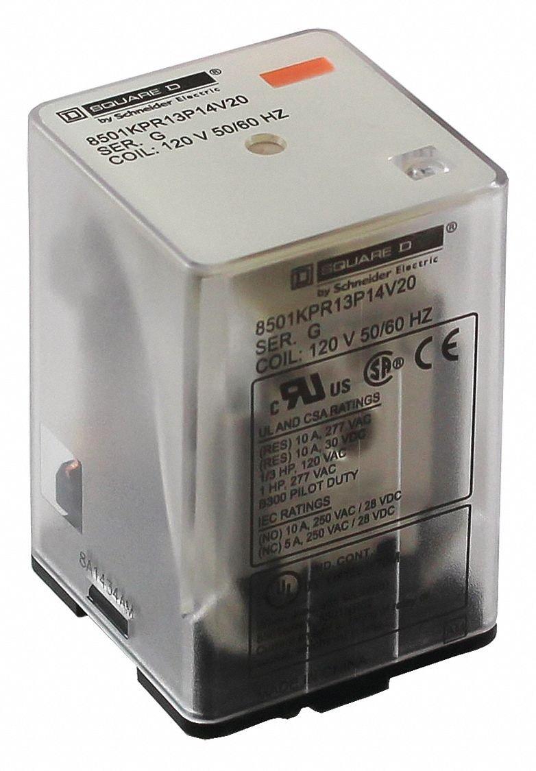 24Vac Octal 11 Pins Plug in Relay