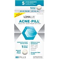 Loma Lux Acne Pill - All Natural Skin Clearing Minerals - Dermatologist Developed For All Types of Acne & Rosacea, 60…