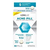 Loma Lux Acne Pill - All Natural Skin Clearing Minerals - Dermatologist Developed...