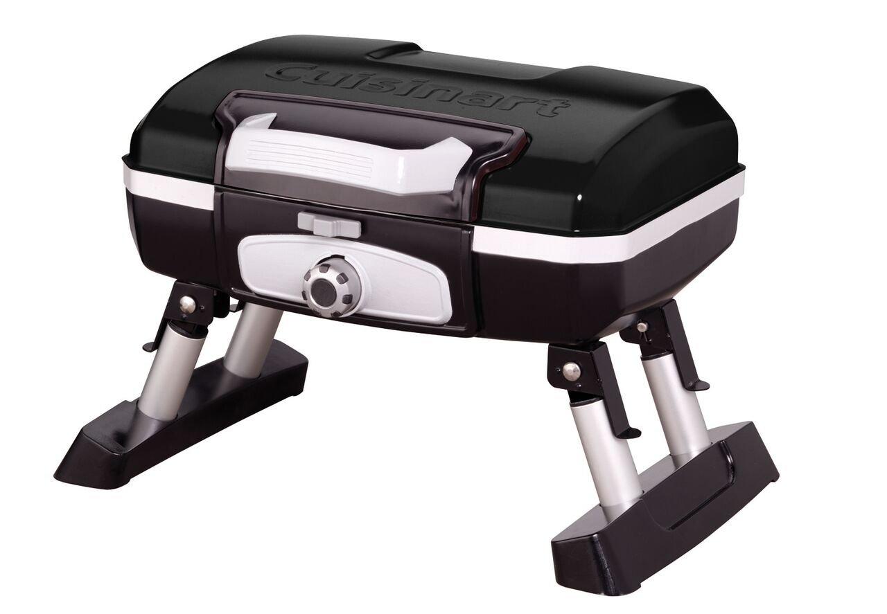 Cuisinart CGG-180TB Petit Gourmet Portable Tabletop Gas Grill, Black