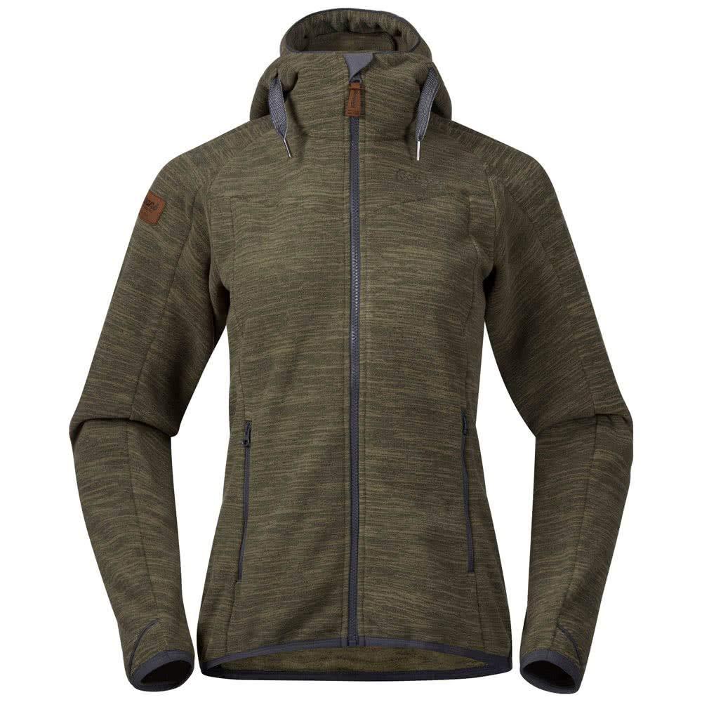 Bergans Hareid Fleece Jacket Women purple velvet melange 2019 winter jacket