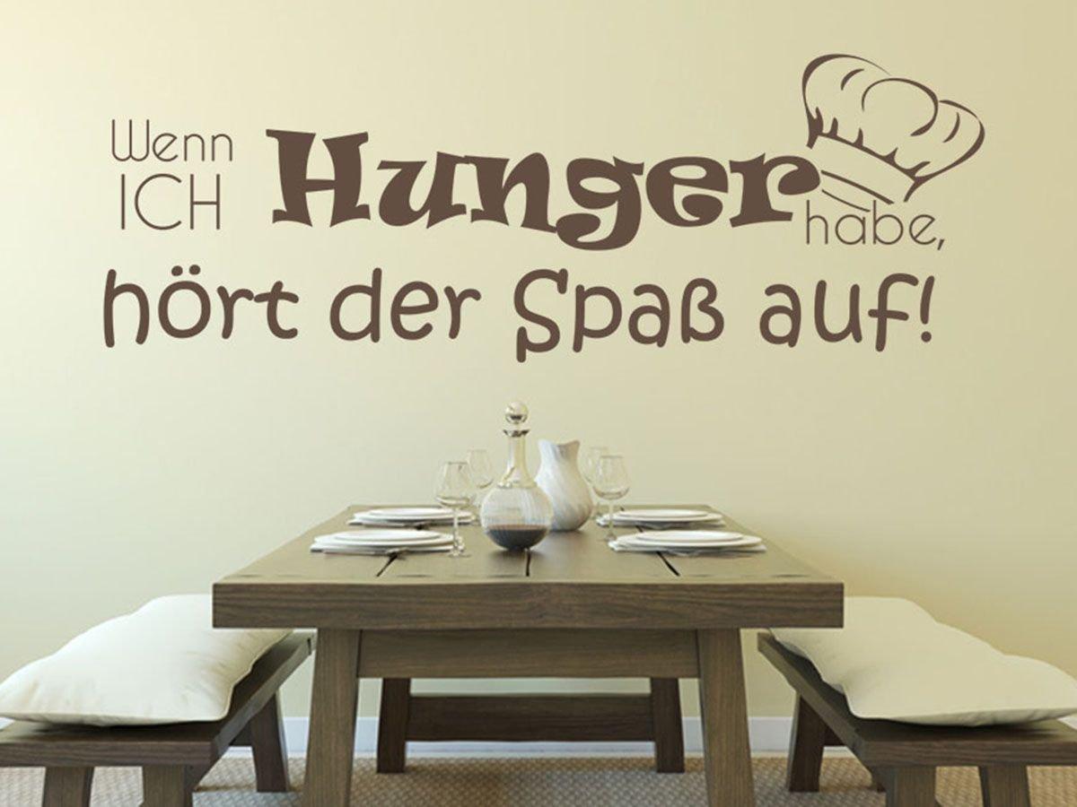 Außergewöhnlich Küchen Wandtattoo Das Beste Von Wandtattoo-bilder® Küche Wenn Ich Hunger Habe, Hört