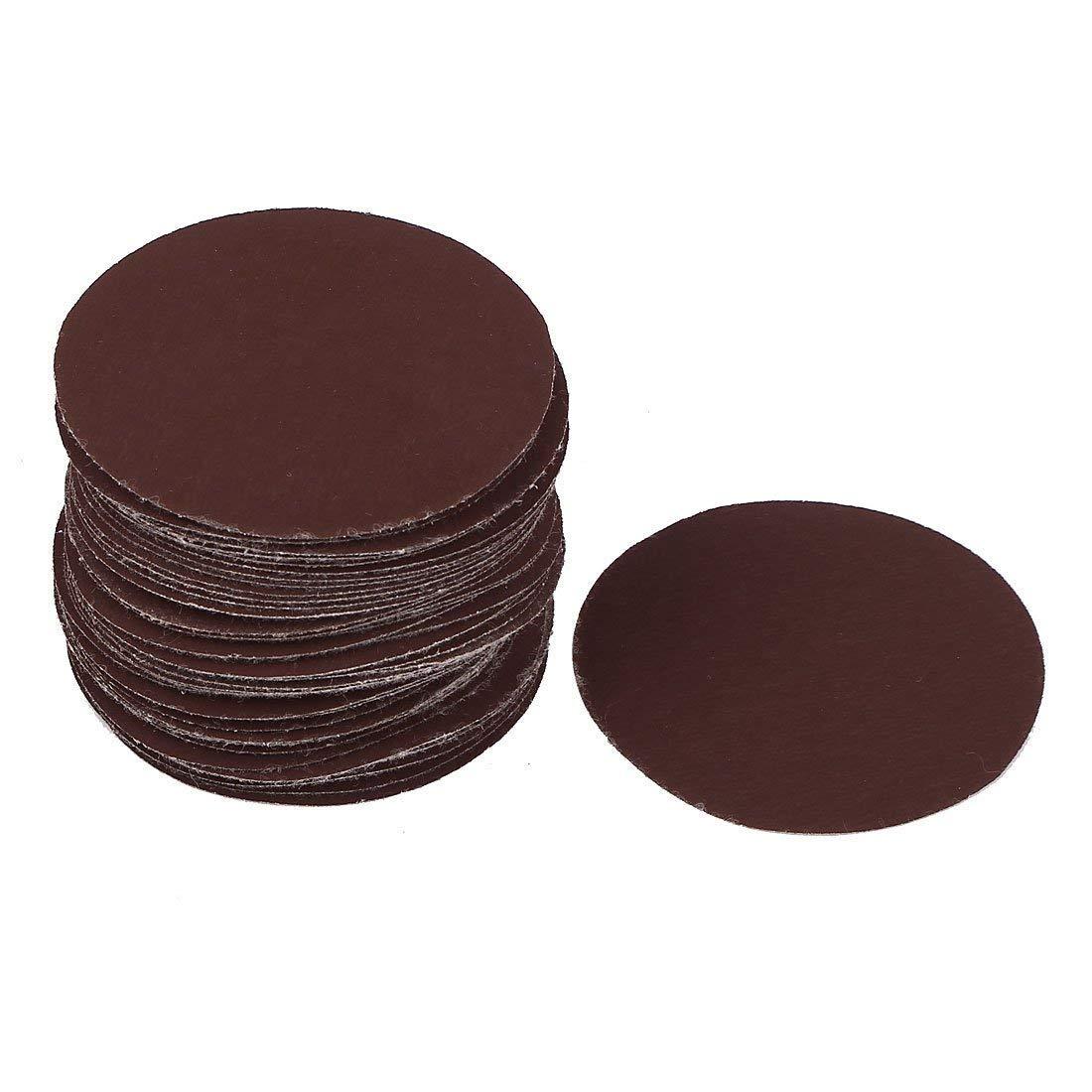 YXQ 3-inch Dia No-Hole 2000Grit Abrasive Round Sanding Disc Sandpaper (60Pcs)