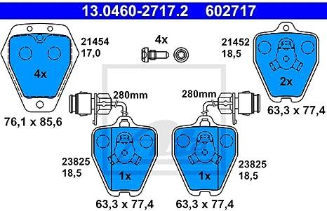 Bremsbelagsatz Scheibenbremse DELPHI LP784