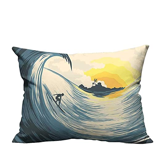 YouXianHome - Funda de cojín para sofá, diseño de Palmas ...