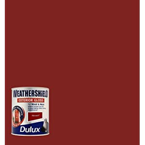 Dulux Weather Shield Exterior High Gloss Paint, 750 ml