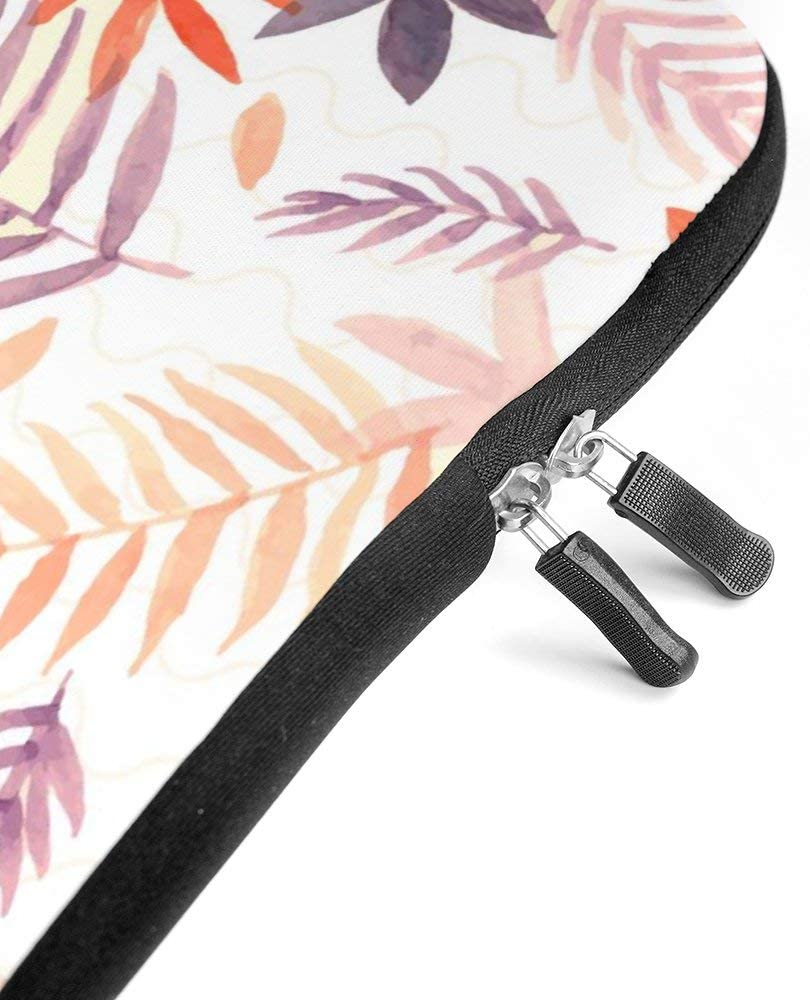 Diving Fabric,Neoprene,Sleeve Laptop Handle Bag Handbag Notebook Case Cover Tropical Pattern,Classic Portable MacBook Laptop//Ultrabooks Case Bag Cover 15 inches